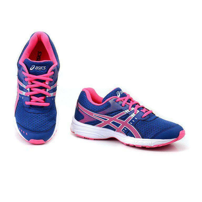 Tenis Infantil Asics Buzz 3 Gs Marinho Pink - 1y74a005-401