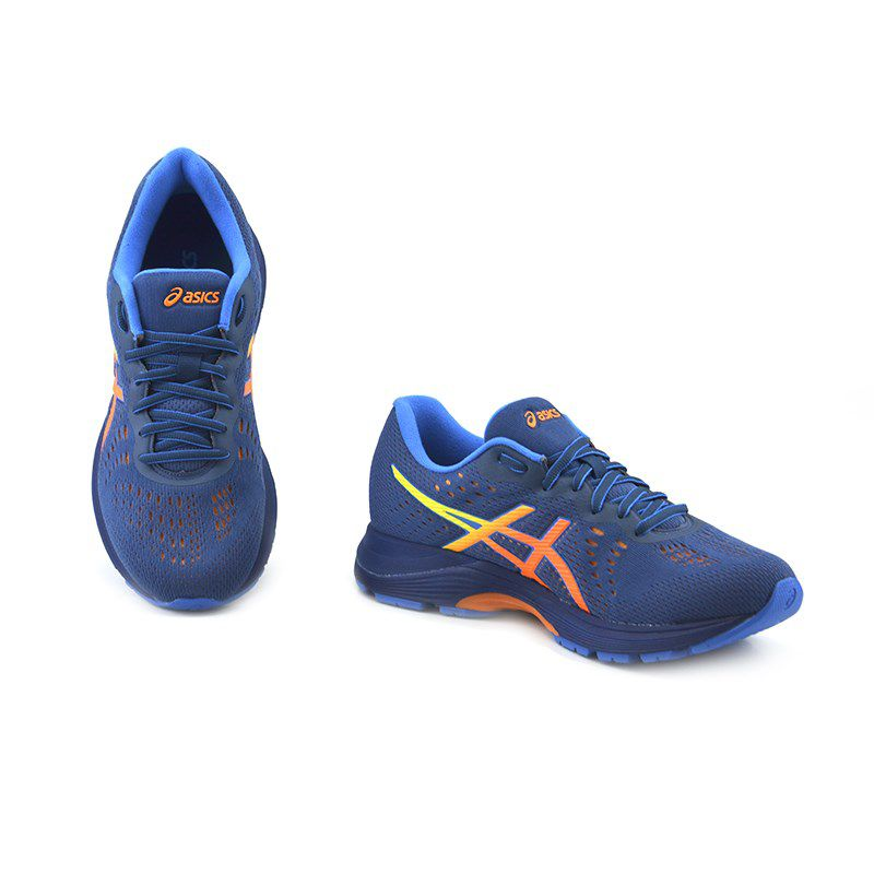 Tênis Masculino Asics Gel Kihai Azul Laranja - 1z11a009-402
