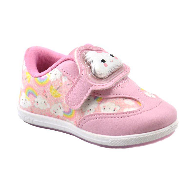 Tênis Infantil Kidy Promoção Rosa - 009-0782-0008