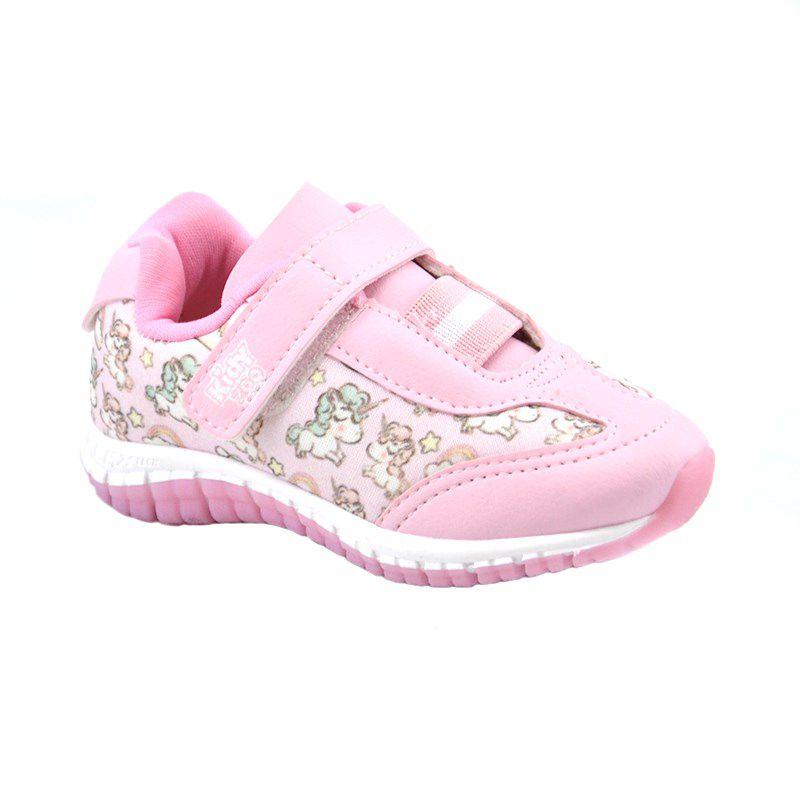 Tênis Infantil Kidy Promoção Rosa - 033-0013-00008
