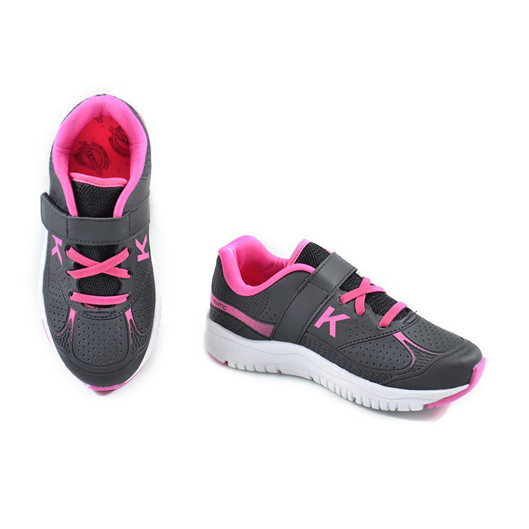 Tênis Infantil Kidy Speed Preto Pink - 0621012
