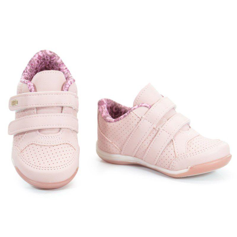 Tênis Infantil Menina Kidy Colors Nude - 0090682