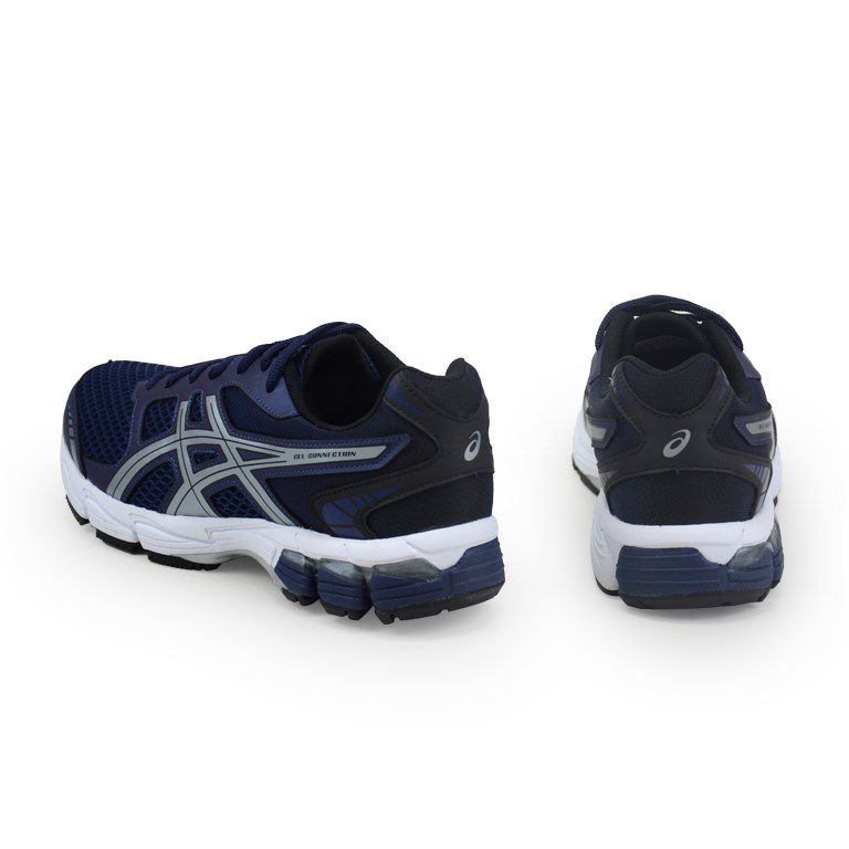 Tênis Masculino Asics Gel Connection Peacoat Silver - 1z21a001-400