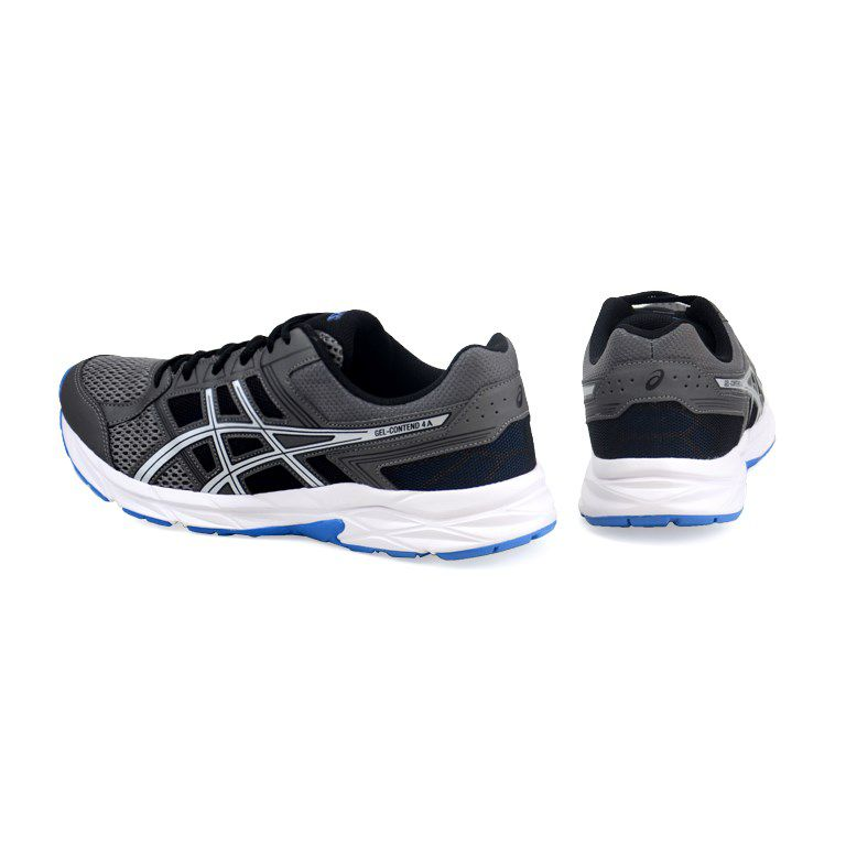 Tênis Masculino Asics Gel Contend 4a Carbono Silver - T026a-021