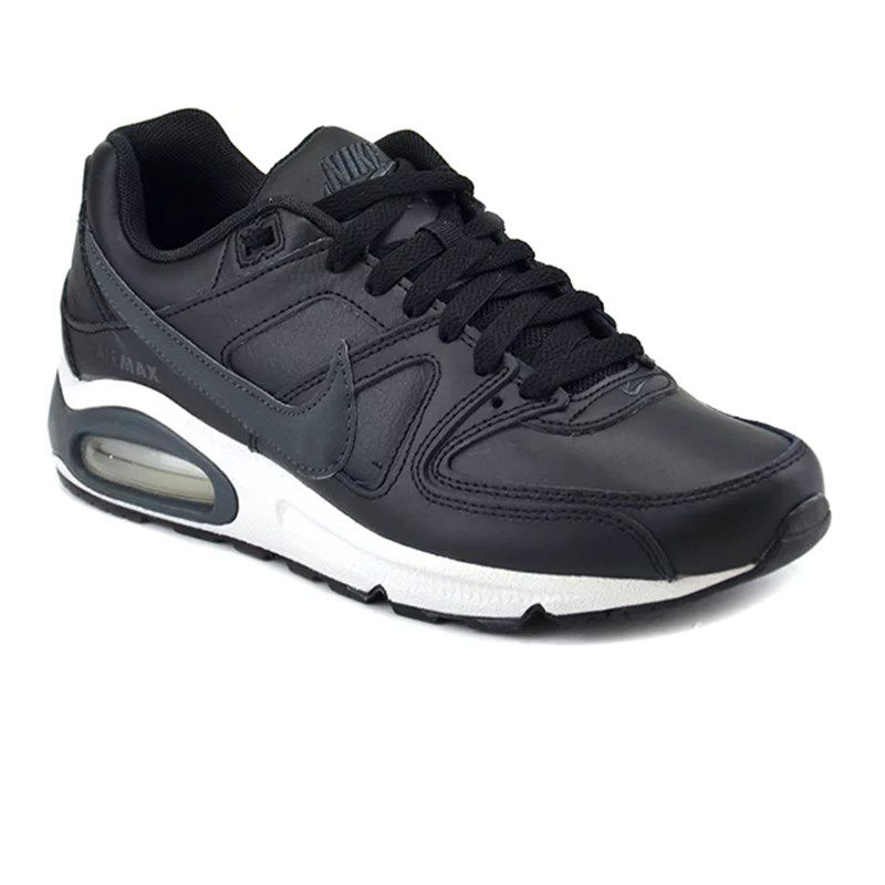 Tênis Masculino Nike Air Max Command Leather Preto - 749760-001