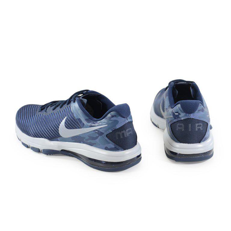 Tênis Masculino Nike Air Max Full Ride Tr 1.5 Marinho Prata - 869633-401