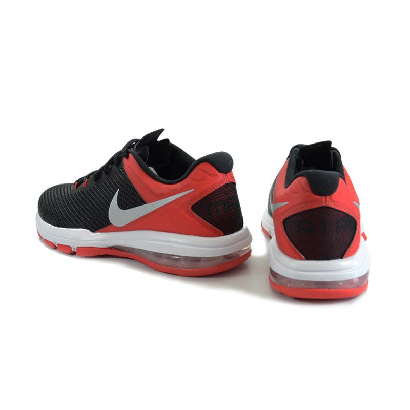 Tênis Masculino Nike Air Max Full Ride Tr 1.5 Preto Vermelho Prata - 869633-600