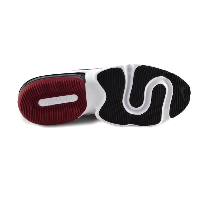 Tenis Masculino Nike Air Max Infinity Vermelho Preto - Bq3999-600