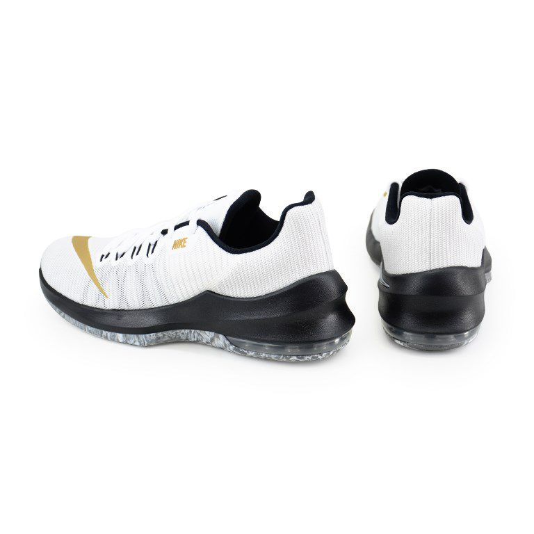 Tênis Masculino Nike Air Max Infuriate 2 Low Branco Preto - 908975-101