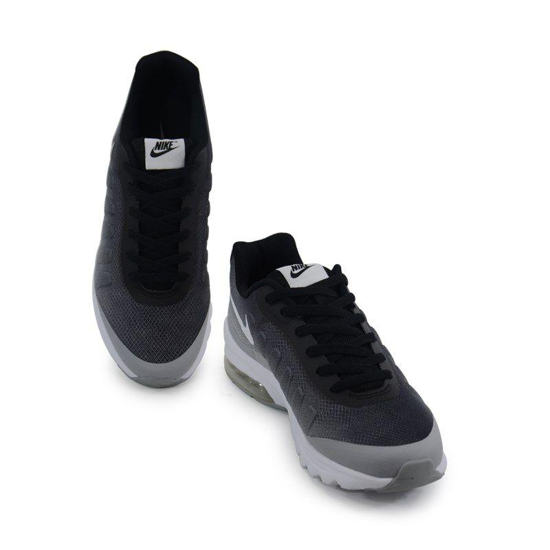 Tênis Masculino Nike Air Max Invigor Print Preto Grafite Branco - 749688-001
