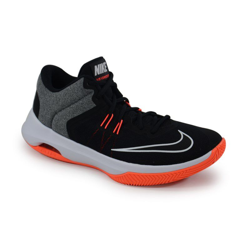 Tênis Masculino Nike Air Versitile Ii Preto Cinza Laranja - 921692-006
