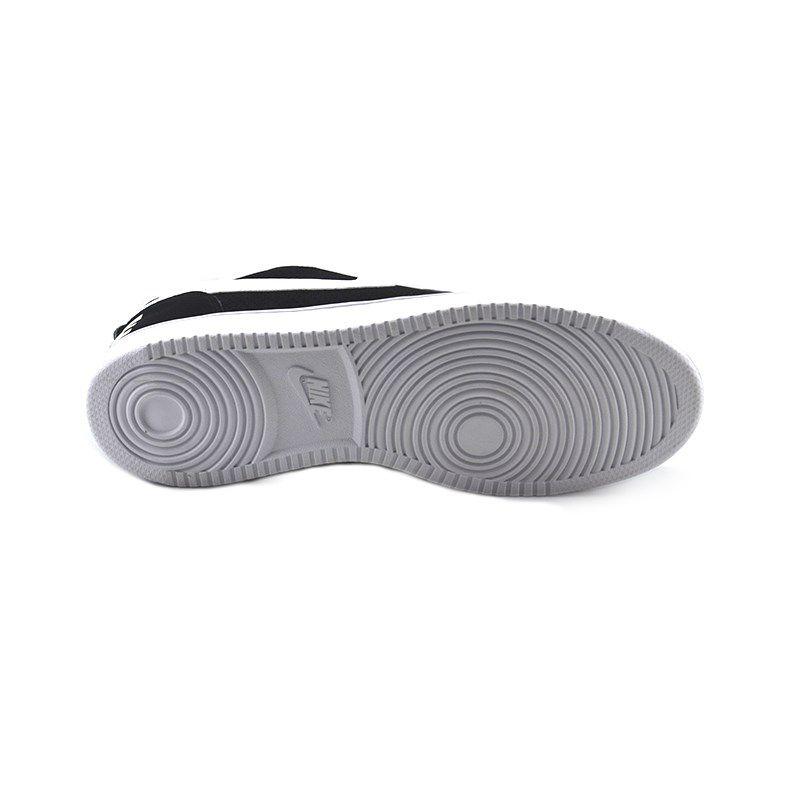 Tênis Masculino Nike Court Borough Low Preto Branco - 838937-010