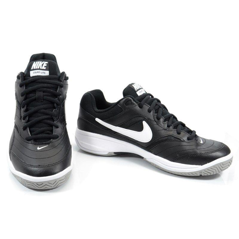 Tênis Masculino Nike Court Lite Preto Branco - 845021-010