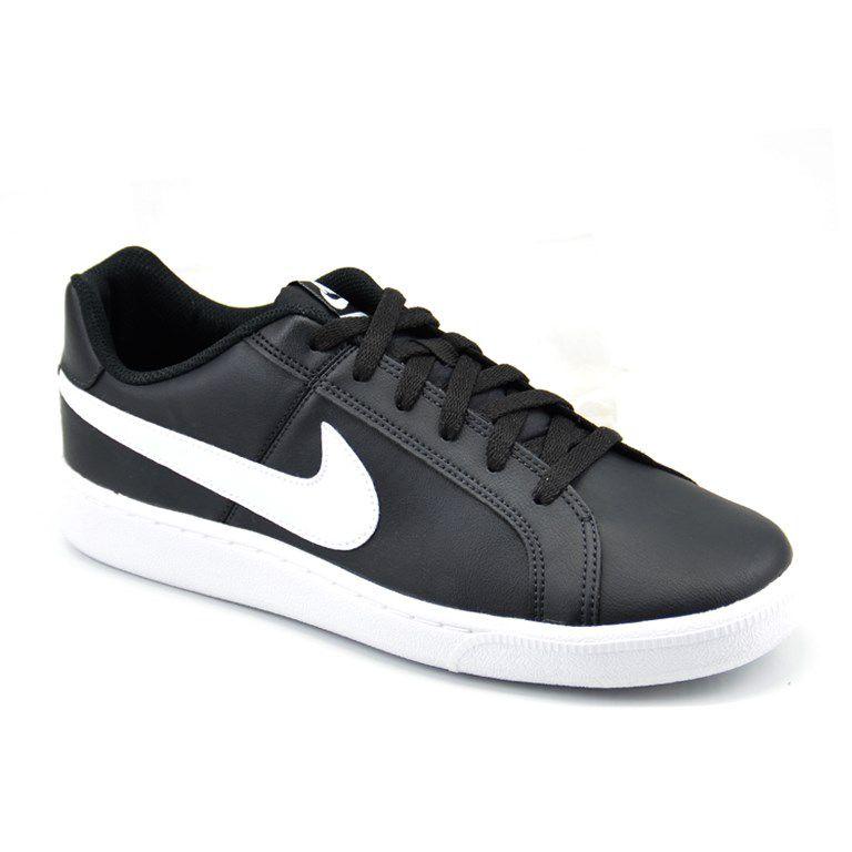 Tênis Masculino Nike Court Royale Preto Branco - 749747-010