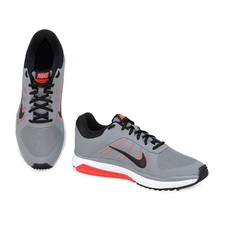 Tênis Masculino Nike Dart 12 Msl Grafite Preto Vermelho - 831533-002