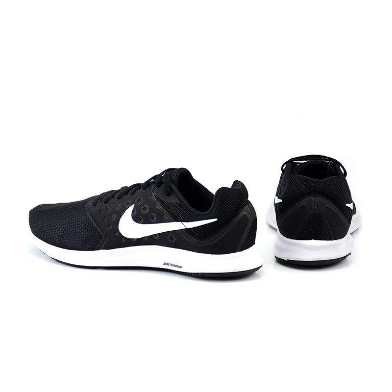 Tênis Masculino Nike Downshifter 7 Preto Branco - 852459-002