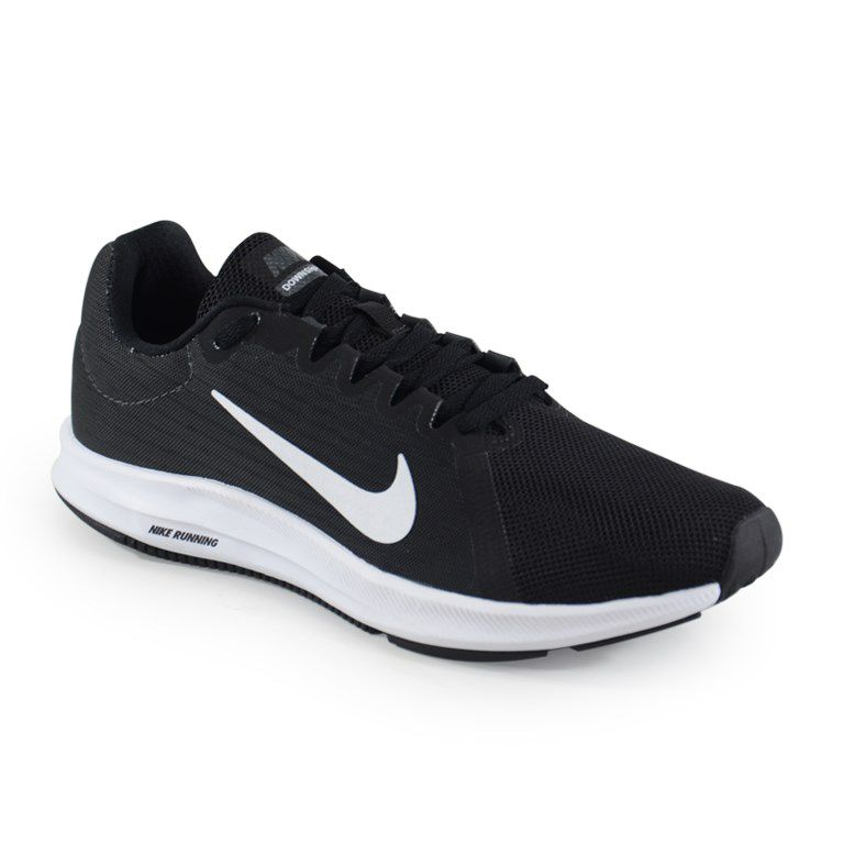 Tênis Masculino Nike Downshifter 8 Preto Branco - 908984-001