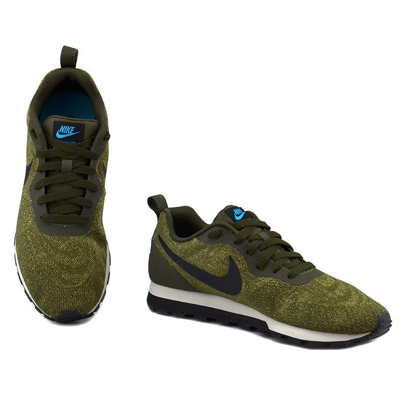 Tênis Masculino Nike Md Runner 2 Verde Musgo Preto - 916774-301