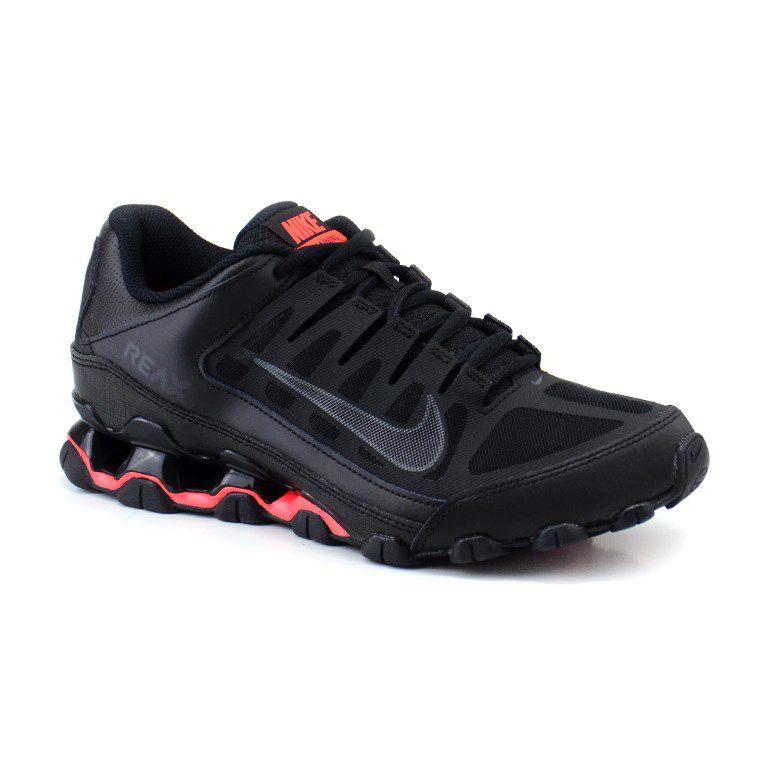 Tênis Masculino Nike Reax 8 Tr Mesh Preto Brilhante - 621716-060