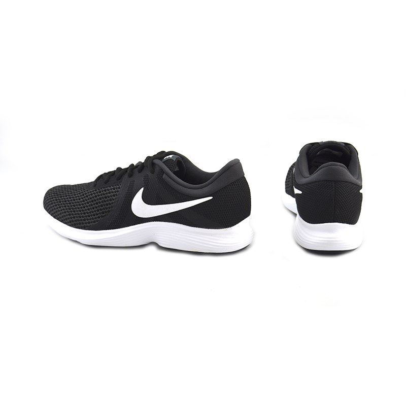Tênis Masculino Nike Revolution 4 Preto Branco - 908988-001
