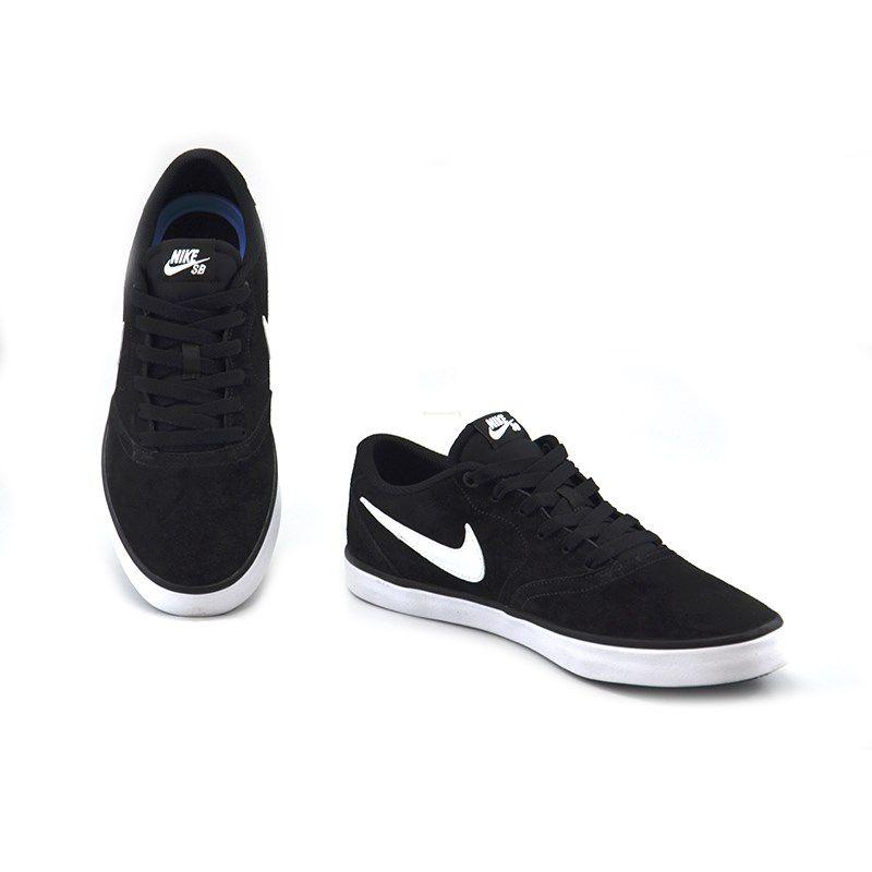Tênis Masculino Nike Sb Check Solar Preto Branco - 843895-001