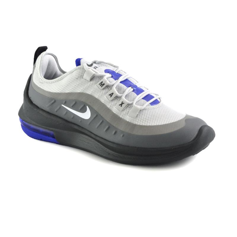Tênis Nike Air Max Axis Cinza Chumbo Azul - Aa2146-016
