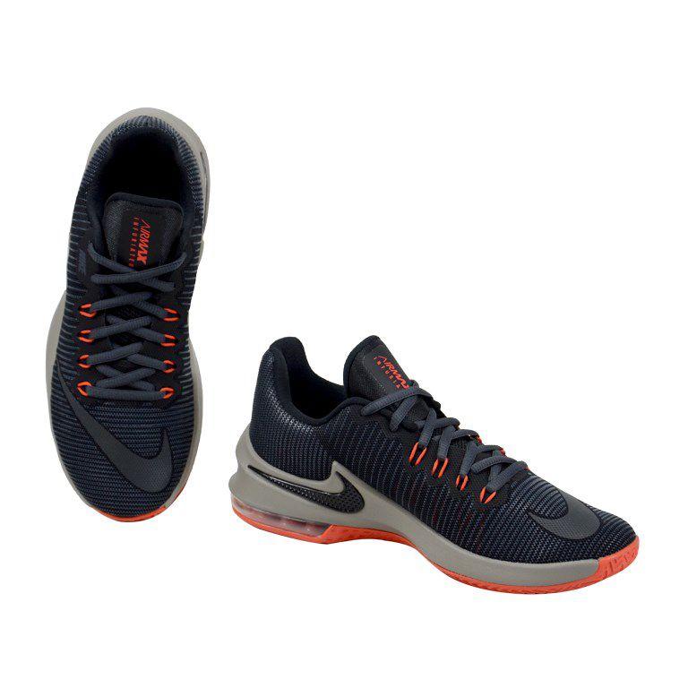 Tênis Nike Air Max Preto Coral - 908975-020