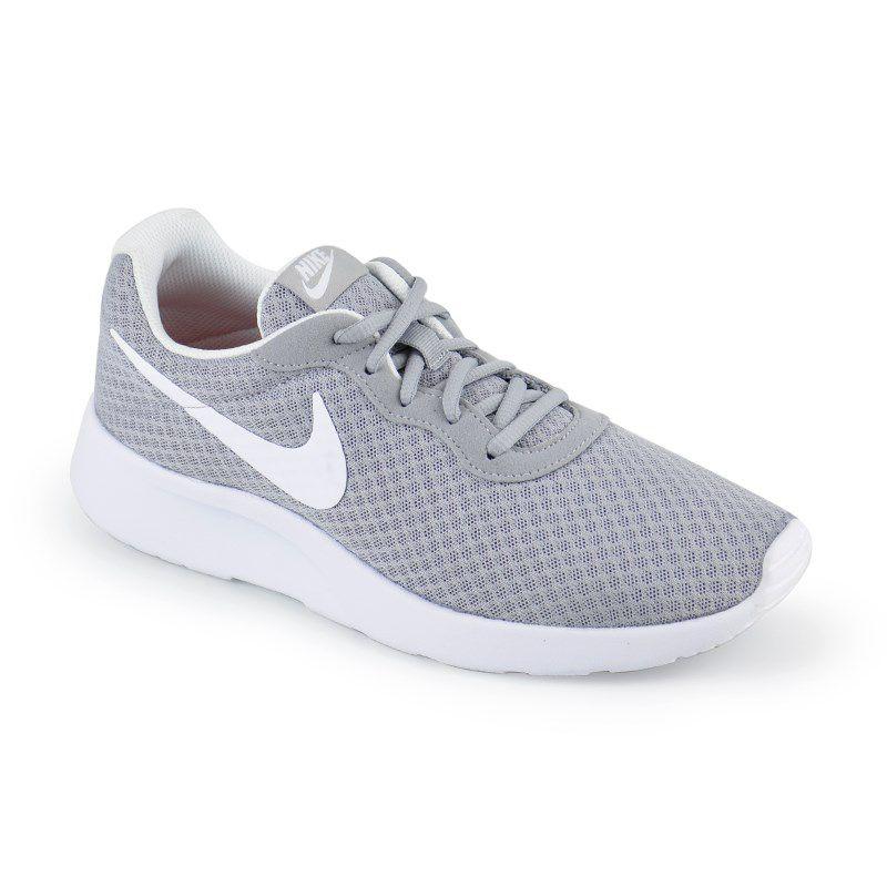 Tenis Nike Tanjun Cinza Branco - 812655-010