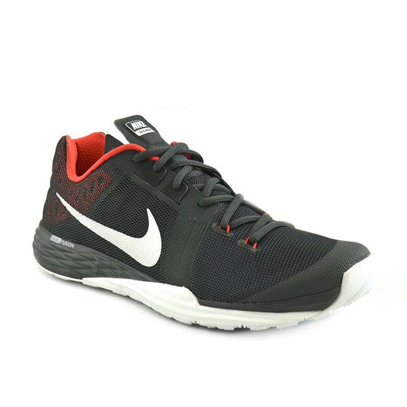 Tenis Nike Train Prime Iron Df Chumbo Prata Vermelho - 832219-009
