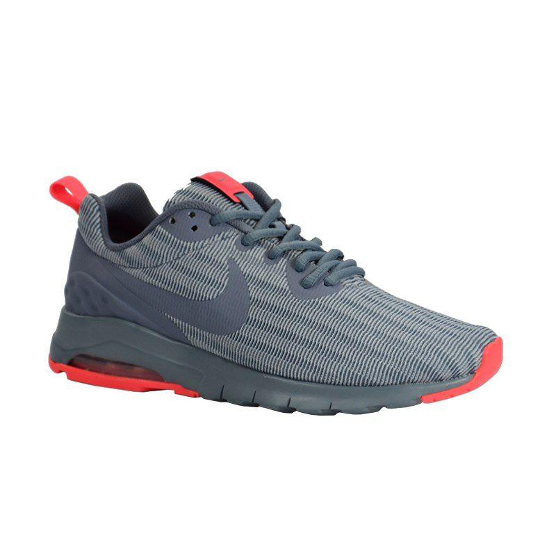 Tenis Nike Wmns Air Max Motion Cinza Rosa Neon - 844895-403