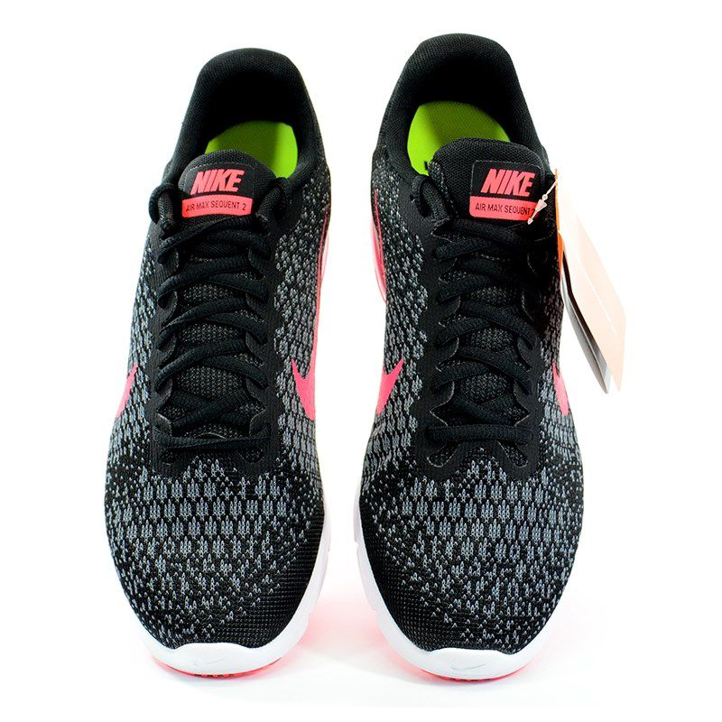 Tenis Nike Wmns Air Max Sequent 2 Preto Cinza Pink - 852465-006