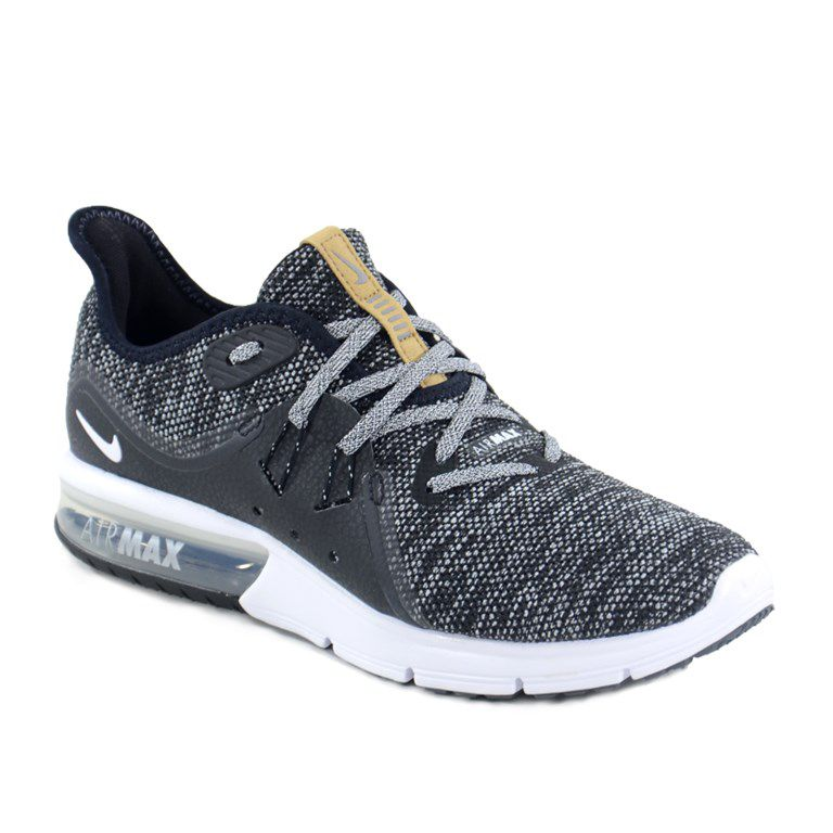 Tenis Nike Wmns Air Max Sequent 3 Preto Cinza - 908993-011
