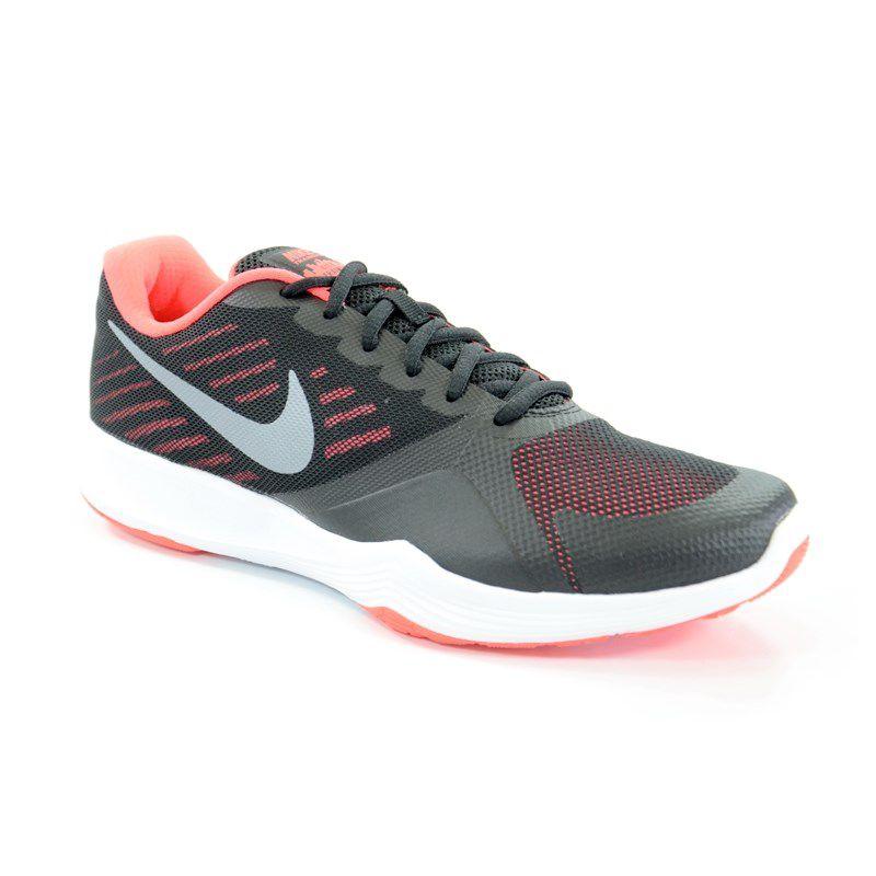 Tenis Nike Wmns City Trainer Preto Coral Prata - 909013-006