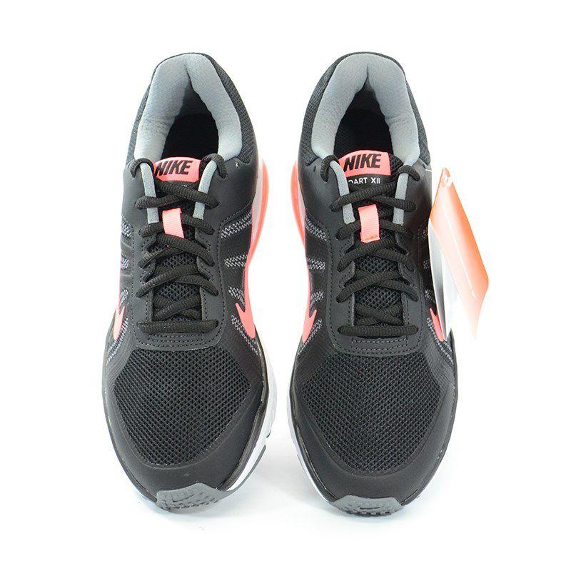 Tênis Nike Wmns Dart 12 Mls Preto Coral - 831539-003