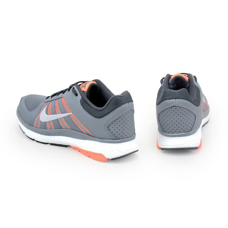 Tenis Nike Wmns Dart 12 Msl Cinza Prata Coral - 831539-010