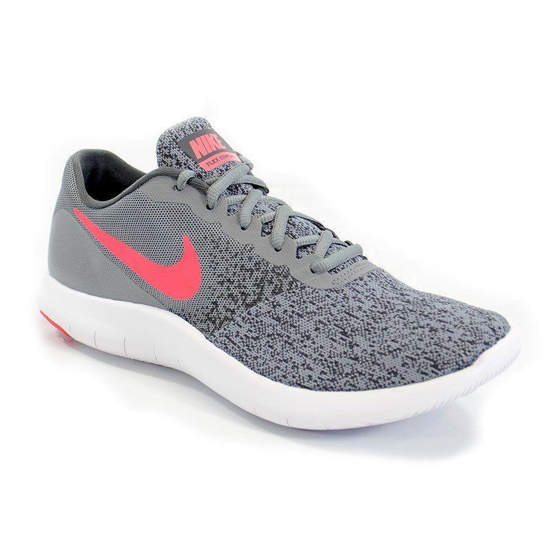 Tenis Nike Wmns Flex Contact Cinza Preto - 908995-05