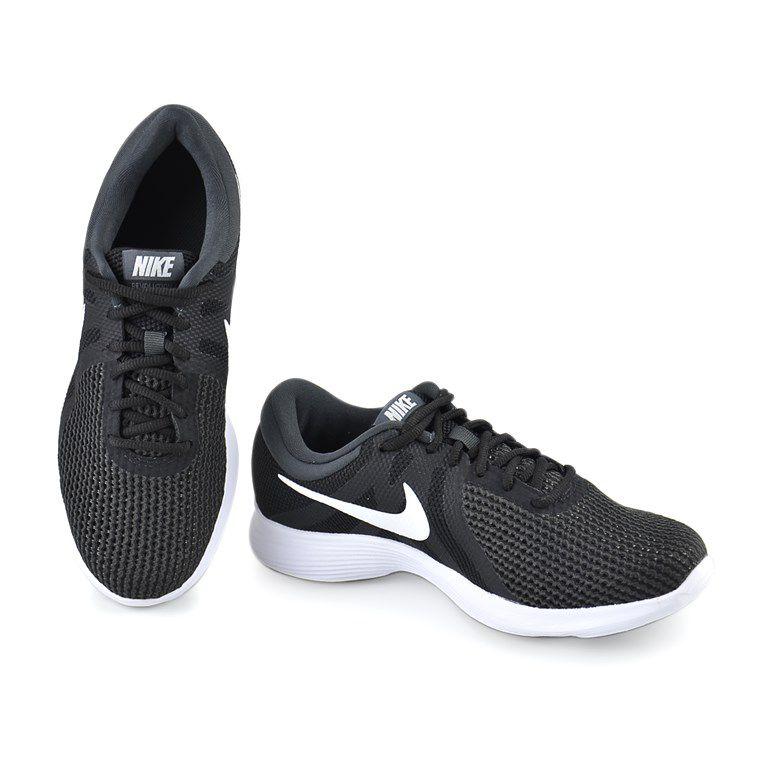 Tenis Nike Wmns Revolution 4 Preto Branco - 908999-001