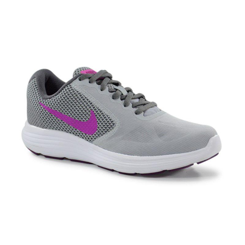 Tenis Nike Wmns Revolution Cinza Violeta - 819303-009