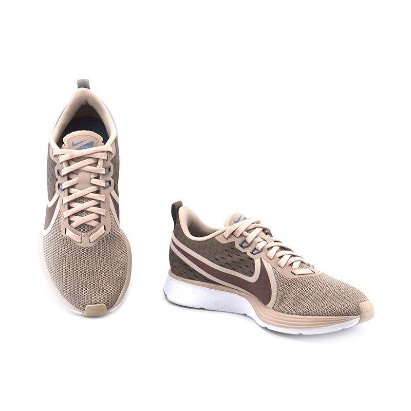 Tenis Nike Wmns Zomm Strike 2 Bege Rose Marrom - Ao1913-201