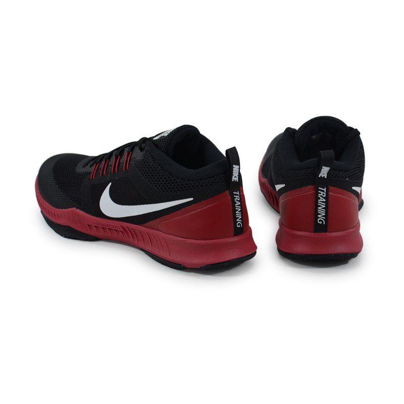 Tenis Nike Zoom Domination Tr Preto Branco Bordo - 917708 - 060