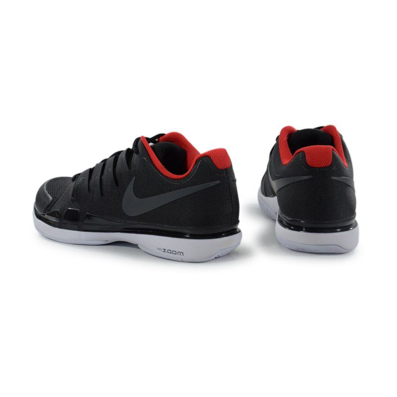 Tenis Nike Zoom Vapor 9.5 Tourblack Preto Branco Vermelho -  631458-007