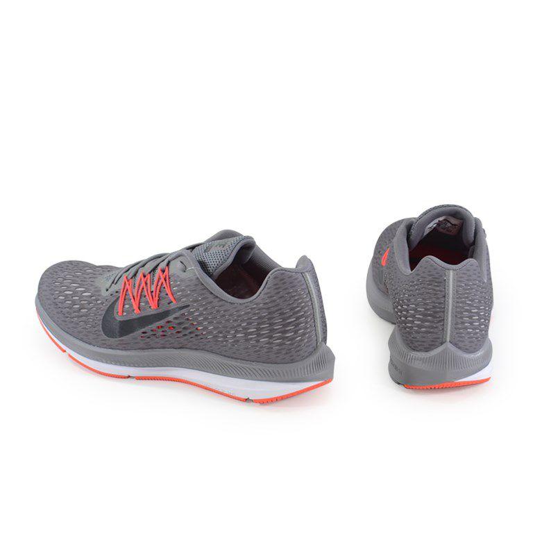 Tenis Nike Zoom Winflo 5 Grafite Preto - Aa7406-006