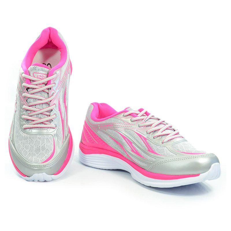 Tenis Olympikus Starter Prata Pink - 341