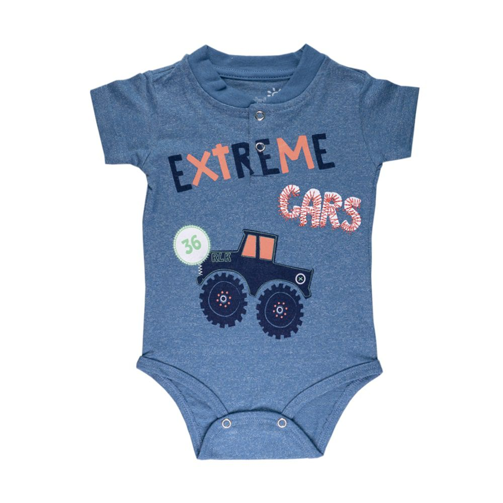 Body Extreme Cars Infantil Menino Azul
