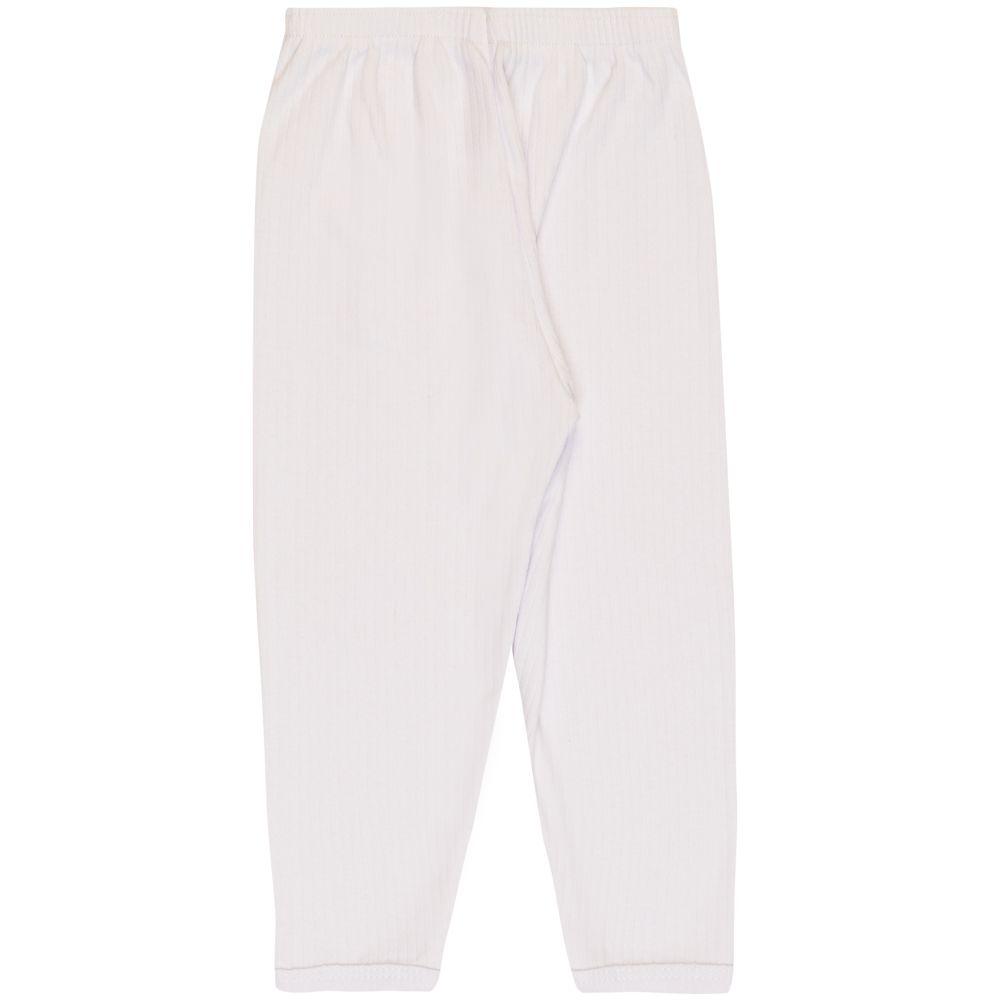 Calça Infantil Básica Menino Branco