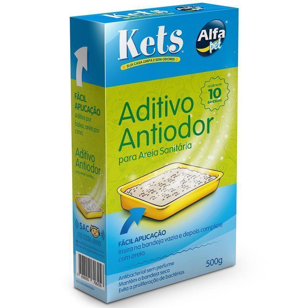 Aditivo Alfapet Kets Antiodor e Antibacterial - 500 g