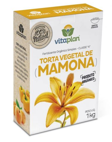 ADUBO VITAPLAN TORTA DE MAMONA 1 KG