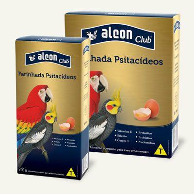 ALCON CLUB FARINHADA PSITACIDEOS 700 GRS