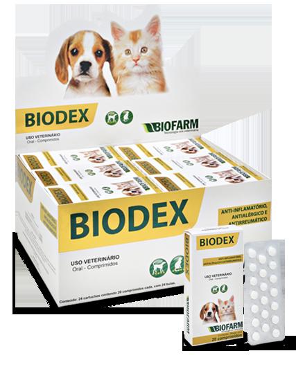 Anti-inflamatório Biodex C/20 Comprimidos  Biofarm