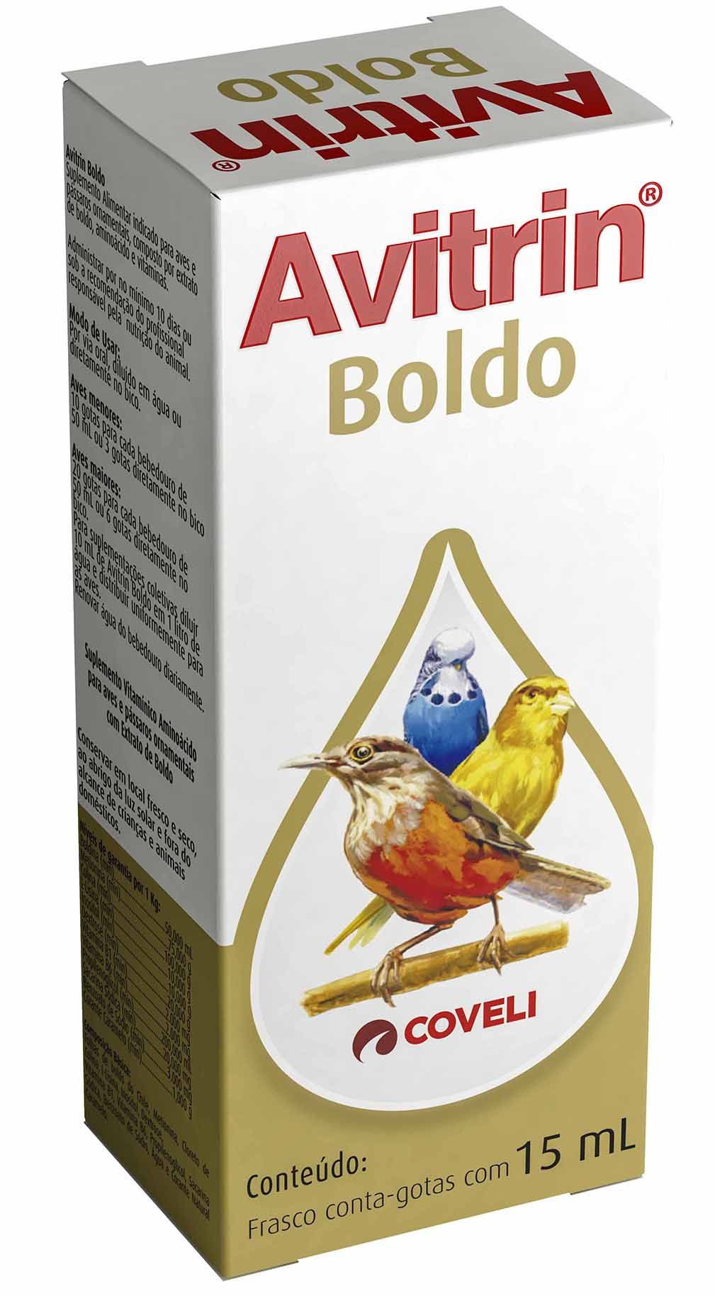 Avitrin Boldo 15 Ml Coveli